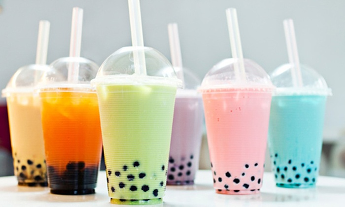 animation food Summer Party bubble tea